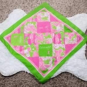 Lilly Pulitzer + Ford Breast Cancer Scarf / Hankie